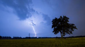 Bekijk details van Overlast door onweersbuien valt in Nederland mee