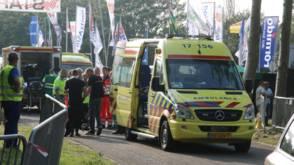 Bekijk details van Gewonden bij ongeluk motorrace Rockanje