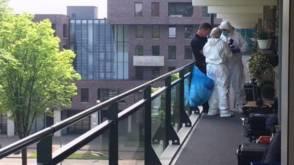Flatgenote opgepakt voor dood 95-jarige vrouw