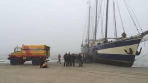 Belgische scholieren stranden op Vlieland