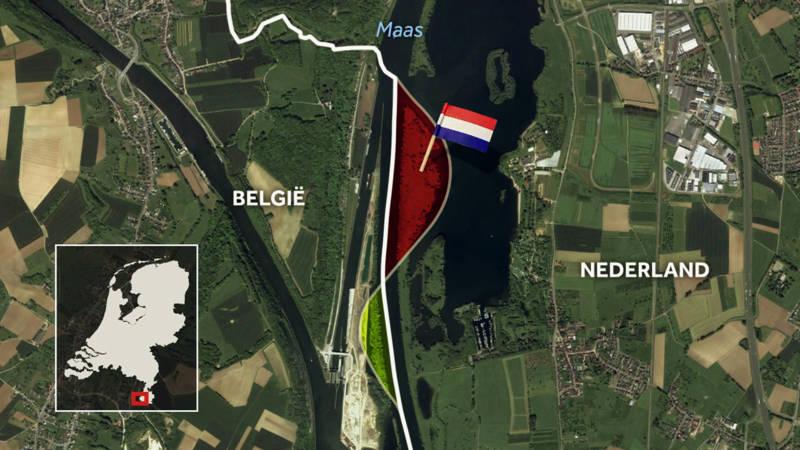 Exchange of border area