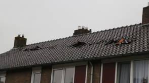 Schade door windhoos in Dedemsvaart