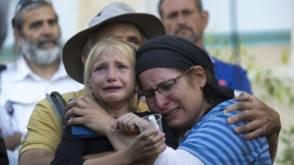 Harde woorden na doodsteken meisje in Israël