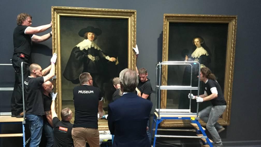Beroemde schilderijen rijksmuseum