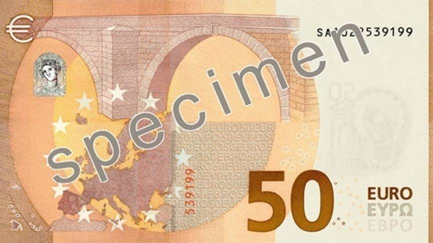Verborgen portret in nieuw 50 euro biljet nos - Liseuse moins de 50 euros ...