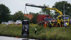 Vier doden na ongeluk in Drentse Stieltjeskanaal.
