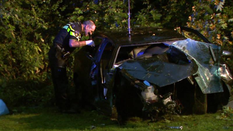 Verkeersruzie leidt tot ongeluk met twee gewonden.