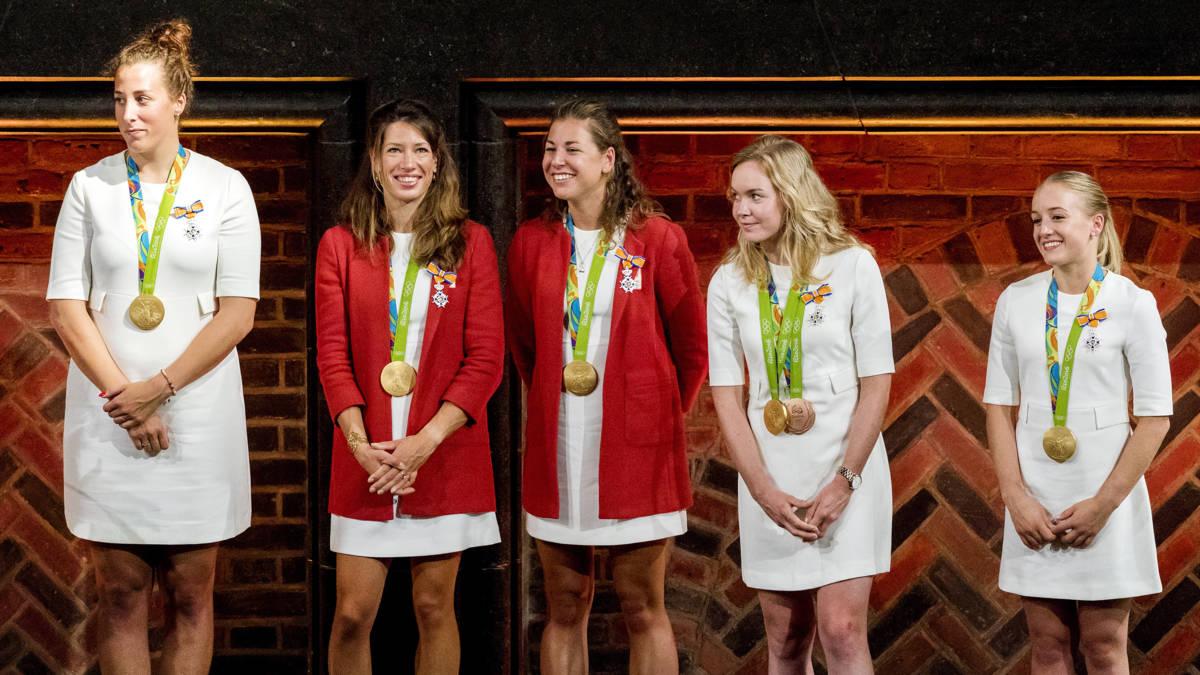 Koninklijke onderscheiding voor gouden olympiërs