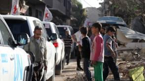 Bekijk details van Evacuatie van voorstad Damascus moet vandaag beginnen