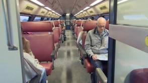 Nieuwe oudjes op het spoor: zalmroze stoelen en iets langere remweg