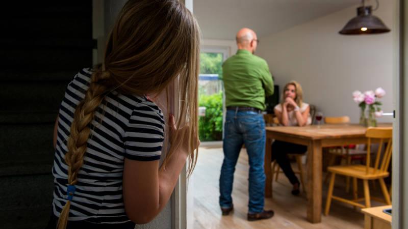 Steeds meer kinderen wonen niet meer bij beide ouders