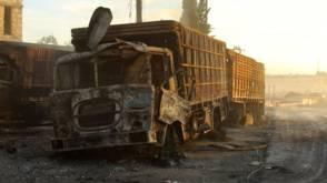 VN onderzoekt aanval op Syrisch hulpkonvooi