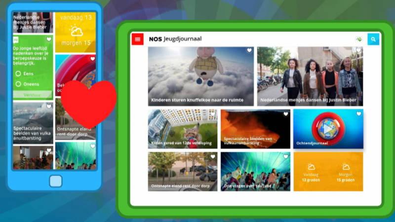 De Jeugdjournaal App Voor Android Iphone En Ipad Nos Jeugdjournaal