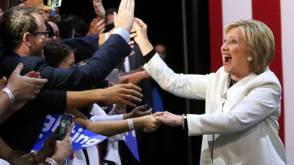 The Series: Clinton is 'the 1 billion dollar lady'