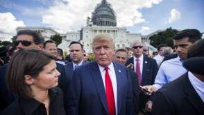 Bekijk details van Trump wil onderzoek naar president Obama