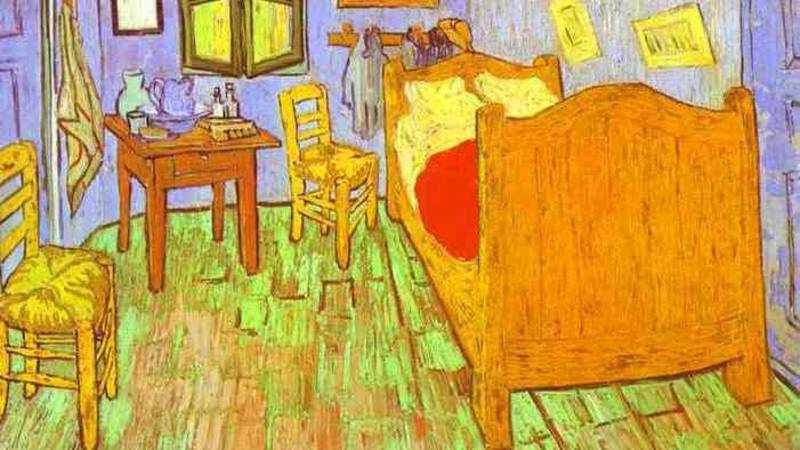 Boxmeer in de ban van bed van van gogh nos - Kamer schilderij ...