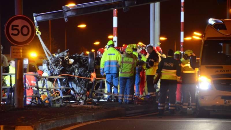 Dodelijk ongeluk op provinciale weg bij Aalsmeer.