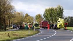 Vijfde ongeluk op N354 bij Reduzum in amper een jaar.