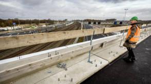 Vertraging op de A9 door wegwerkzaamheden Badhoevedorp