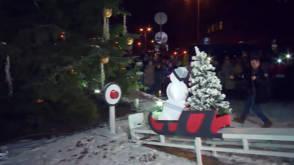 Kettingreactie in Riga: kerstboomrecord gebroken