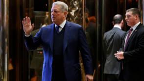 'Interessant' gesprek tussen klimaat-kemphanen Trump en Gore
