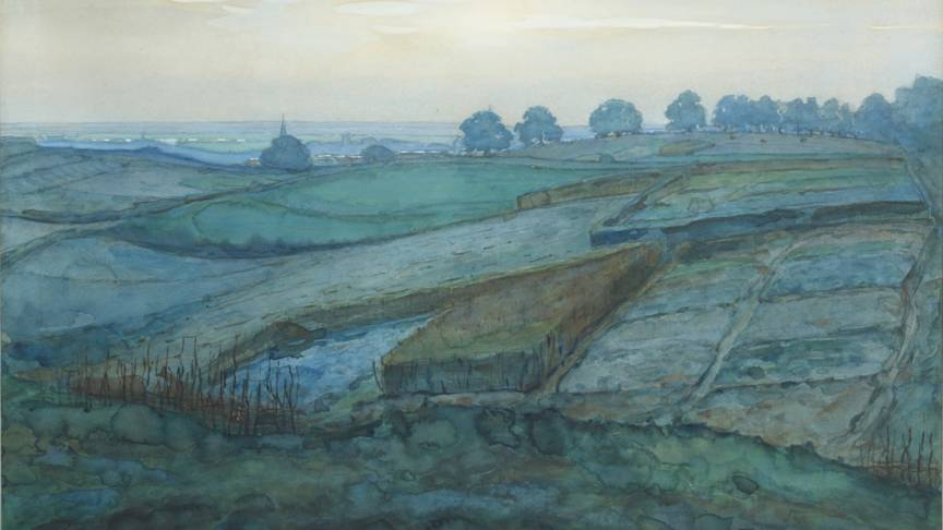 Mondriaan's Landscape near Arnhem, photo Christiie's images limited