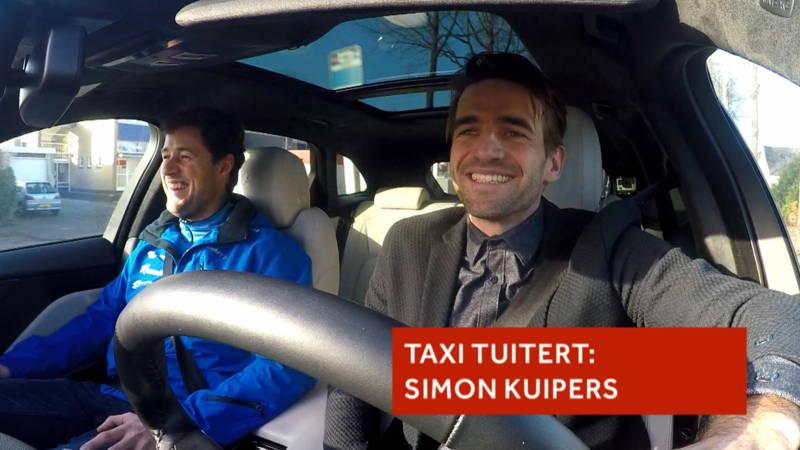 De taxi van Tuitert: Simon Kuipers
