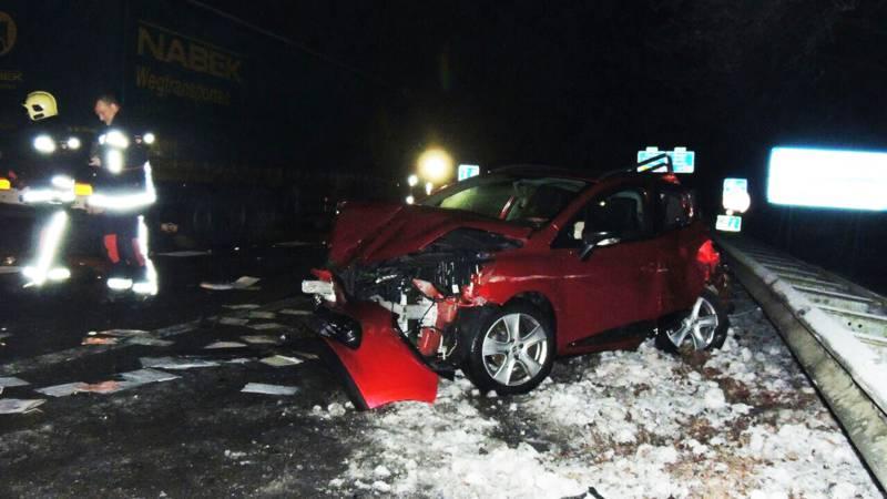 Meerdere gewonden door ongeluk op A28 bij Hoogeveen.