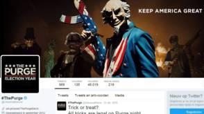 De nieuwe slogan van Trump komt letterlijk uit een horrorfilm