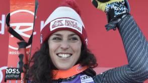 Alpineskiester Brignone houdt Worley van WB-zege af