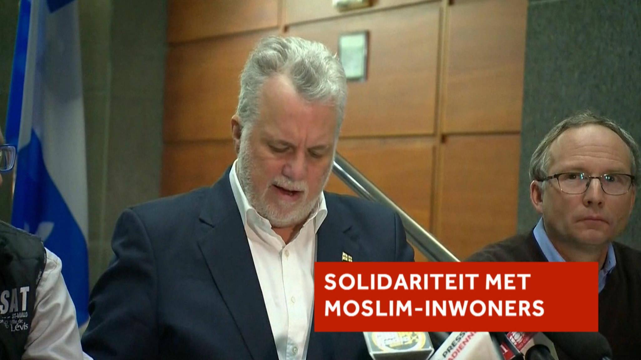 Aanslag Moskee Twitter: Premier Quebec: Moslim-inwoners, We Zijn Met Jullie