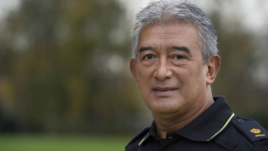 Police commissioner Max Daniel, ANP photo