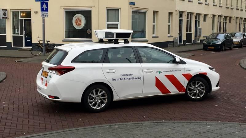 Parkeren In De Stad Pas Op Voor De Scanauto Nos