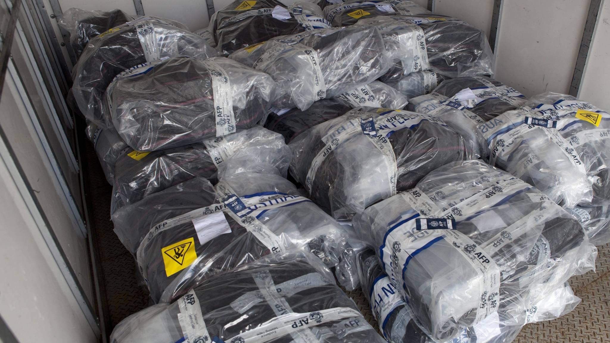 1400 kilo coke, 222 miljoen euro: enorme drugsvangst in Australië | NOS
