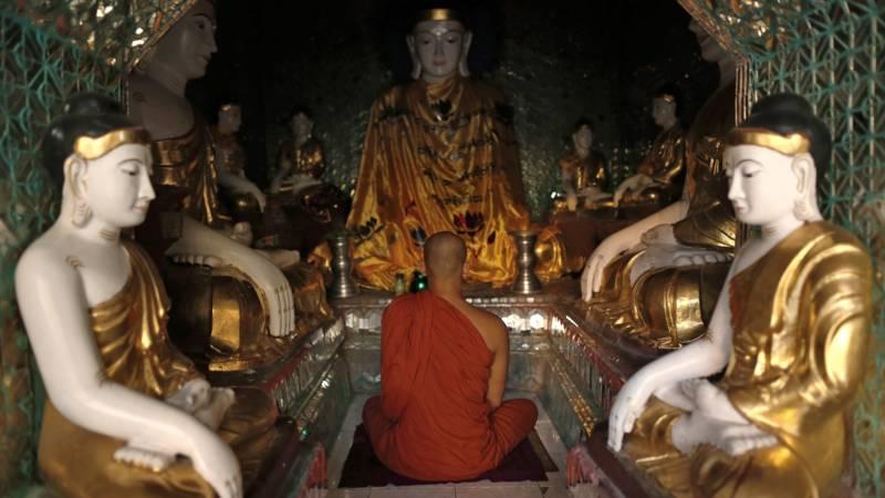 Boeddhistische monnik in Myanmar blijkt drugsdealer | NOS