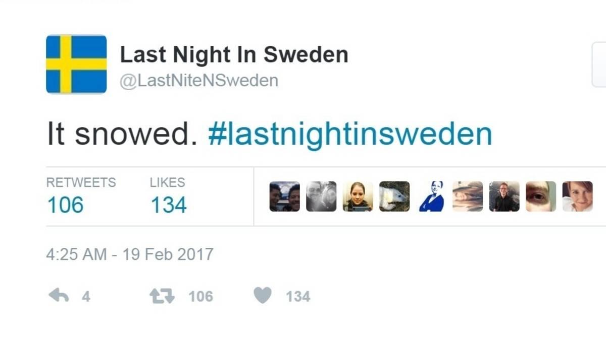 Zweden zit met één vraag: wat was er vrijdagavond, meneer Trump?