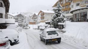 Grote drukte op Zuid-Duitse snelwegen naar wintersport