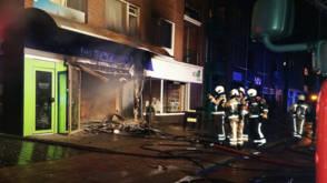 Bekijk details van Pizzeria in Emmen afgebrand na explosie