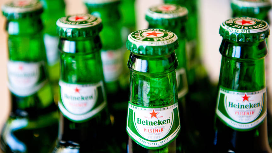 Heineken beer bottles, ANP photo