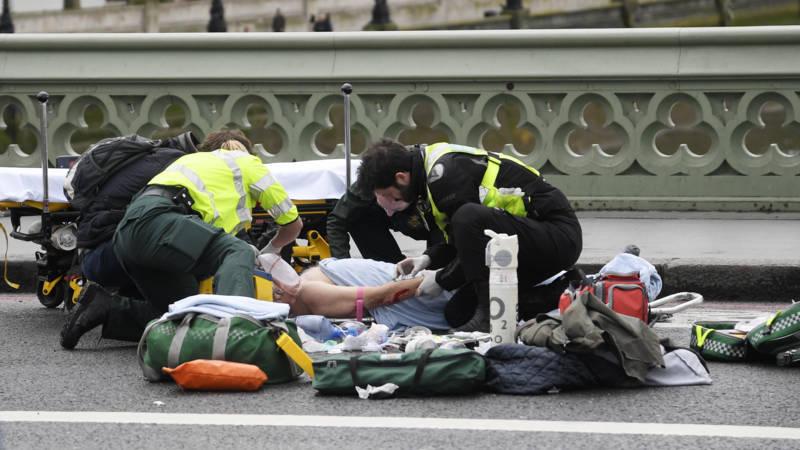 Vier doden en 20 gewonden bij aanslag in politiek hart ... Aandslag Nederland 2017