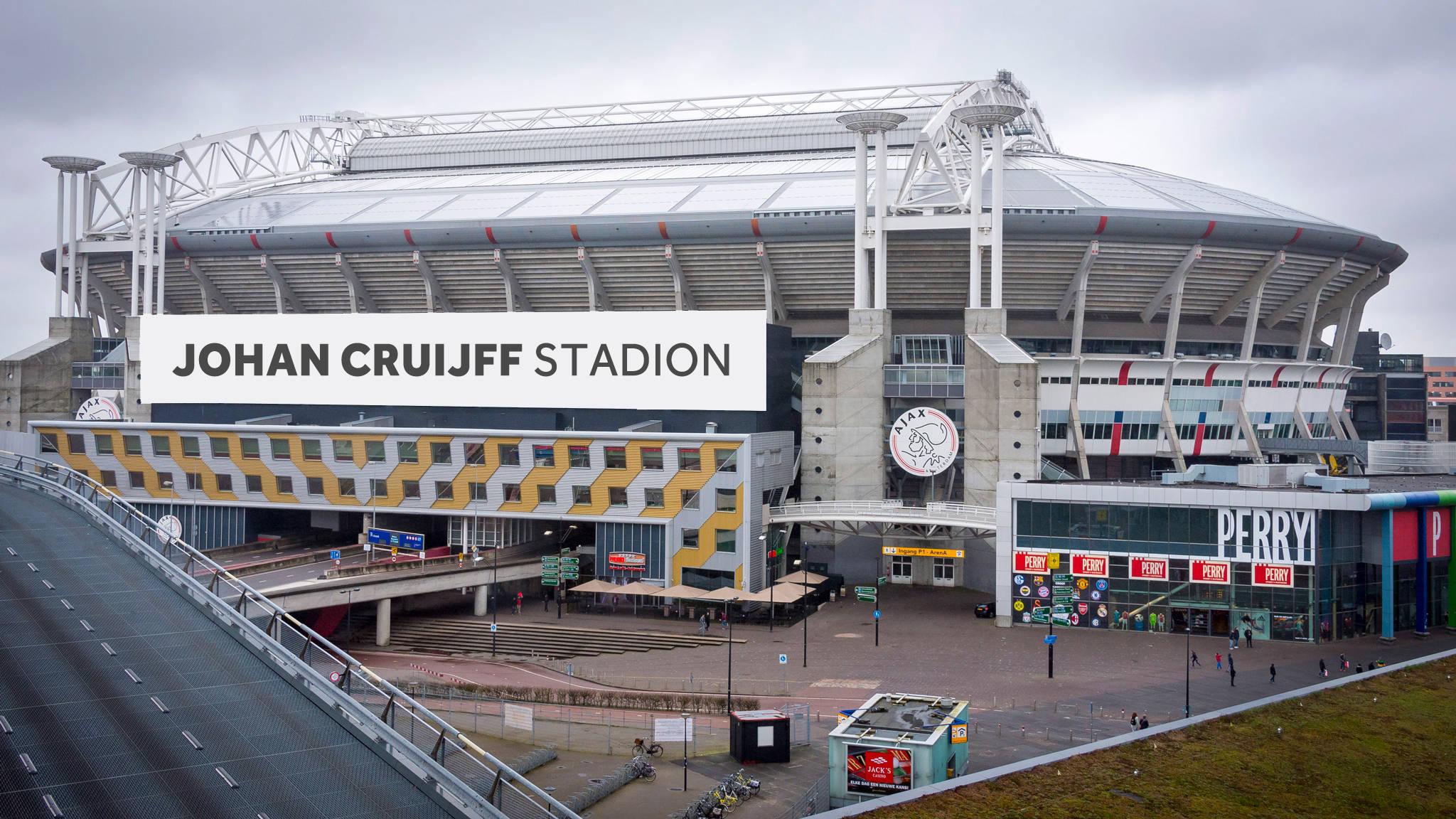 Google Sketch Waarom Heet De Arena Nog Geen Johan Cruijff Stadion Nos