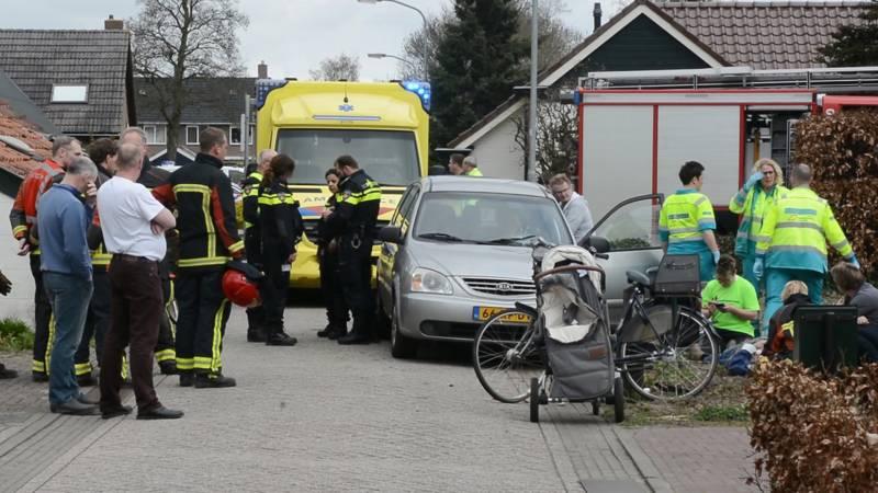 Kinderen gewond bij ongeluk in woonwijk.