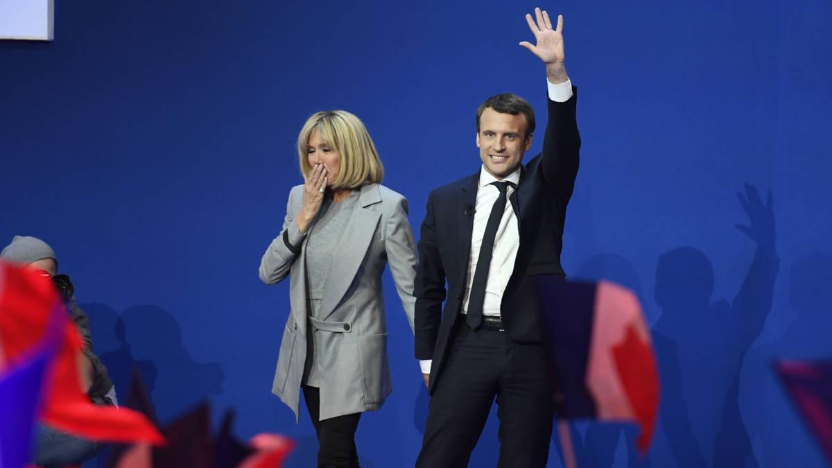 Macron roept op tot nationale eenheid tegen Le Pen