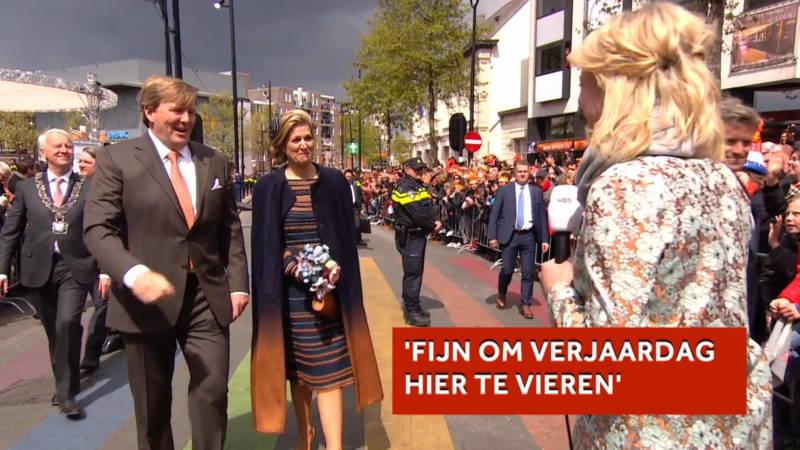 150 000 Mensen Bij Verjaardag Willem Alexander In Tilburg Nos