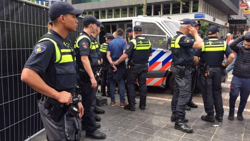 politie rotterdam tevreden over huldiging bedankt voor