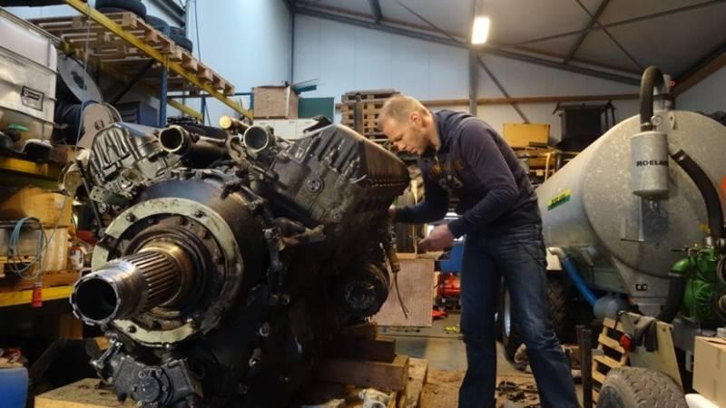 Vliegtuigmotor wordt oorlogsmonument in Brandwijk | NOS - NOS