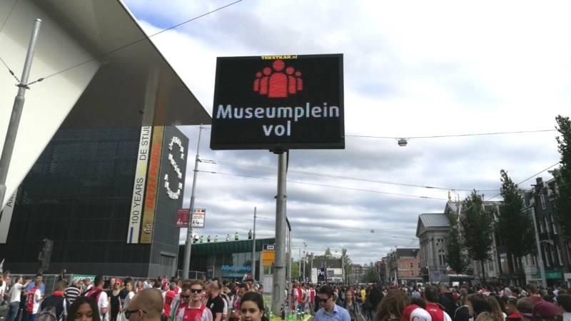 Afbeeldingsresultaat voor museumplein vol