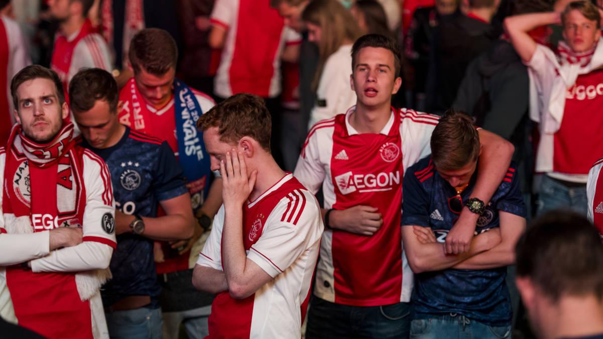 Sfeer in Amsterdam goed, ondanks verlies Ajax