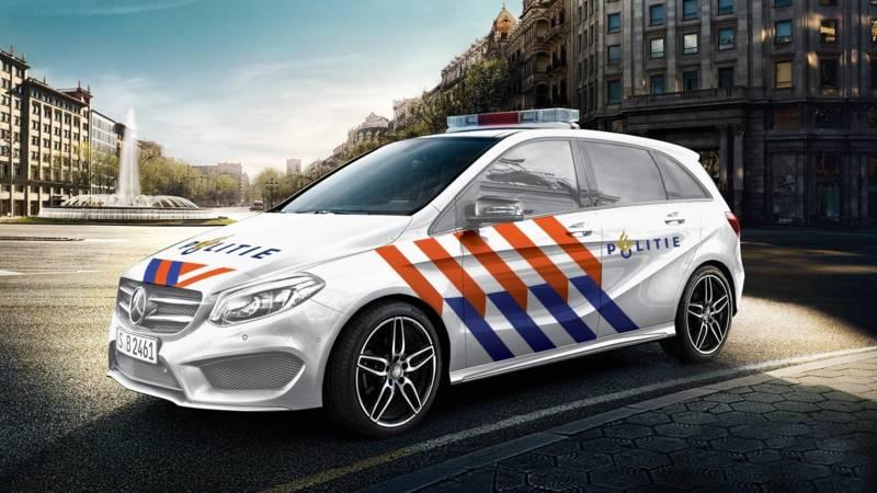 Politie Waarschijnlijk Over Naar Mercedes Benz Nos