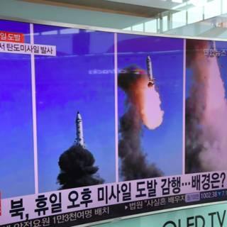 Bekijk details van Amerikanen simuleren onderschepping Noord-Koreaanse raket